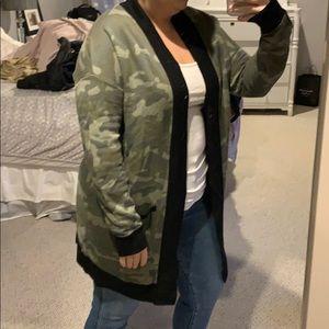 Army cardigan
